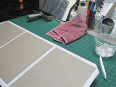 Sage Reynolds' Bookbinding - Turning Edges with a Makeshift Jig. So cool!