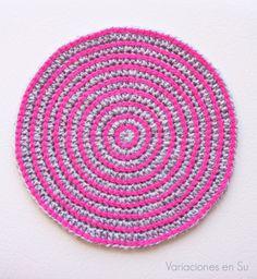 Crochet Place Mat // Salvamantel de ganchillo
