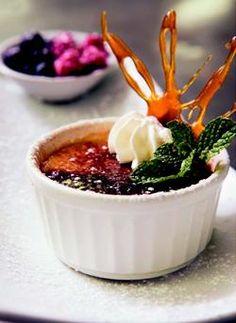 Food & Home Entertaining | Amarula and chocolate creme brulee