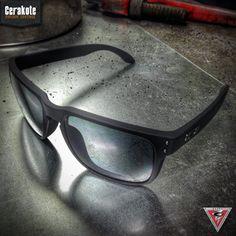 Oakley Standard Issue Holbrook sunglasses featuring Cerakote Graphite Black.