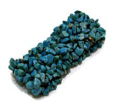 Turquoise Bracelet Cuff Jewelry by CreationsByJanetUSA on Etsy, $25.00 Cuff Jewelry, Stone Jewelry, Cuff Bracelets, Promotion Party, Jasper Gemstone, Organza Bags, Black Onyx, Turquoise Bracelet, Gemstones
