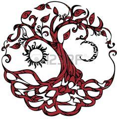 Tree Of Life Clip Art Libres De Droits , Vecteurs Et Illustration. Image 36748067.