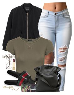 """""""Desperado \\  rihanna  03 30 16"""" by kahla-robyn ❤ liked on Polyvore featuring Monki, WearAll, Gucci, Loewe, Tai, Hysteric Co., Monique Péan, Yves Saint Laurent and Sunday Somewhere"""
