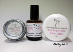 Dragon Lacquer Cuticle & Hand Care Available at:  www.dragonlacquer.etsy.com