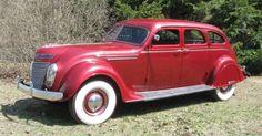 Chrysler automobile - good image Chrysler Voyager, Vintage Cars, Antique Cars, Vintage Auto, Auctions America, Desoto Cars, Chrysler Airflow, Dodge Vehicles, American Auto