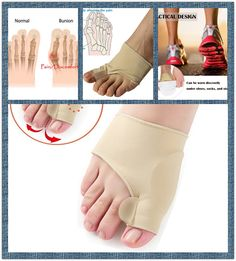 Gel Pad Bunion Sleeves:Toe Protectors,Pain Relief