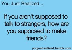 I've Always Asked Myself This Question..