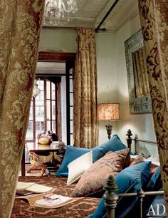 """The bedroom. """"More than anything, I use my apartment as somewhere to retreat and spend time on my own,"""" says Butler. """"New York is such a frenetic, crazy city, so I love to use the place for just some peace and quiet."""""""