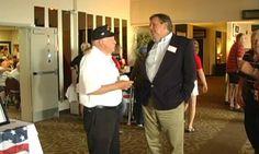 Veterans meet Benishek in advance of Honor Flight trip
