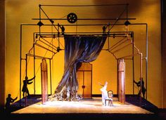 The Marriage of Figaro. Opera North. Scenic design by Robin Don. 1998