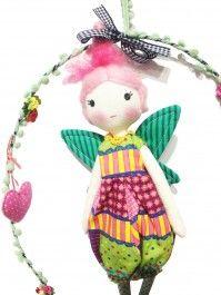 Guirlanda boneca de pano Tacón