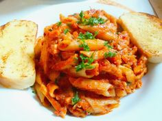 """Penne Arrabiata! """"What can I say? It's pasta and you will love it.""""  @allthecooks #recipe"""