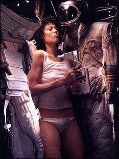 "Alien, from ""Our Favorite Futuristic Film Fashions"""
