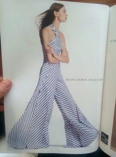 Ralph Lauren Jumpsuit Stripes