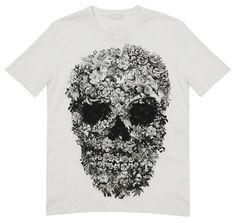 Alexander McQeen Skull Print Tee   Hypebeast