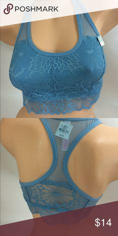 Victoria's Secret Brallete #20 Baby Blue Lace , Victoria's Secret Brallete , size Medium Victoria's Secret Intimates & Sleepwear Bras