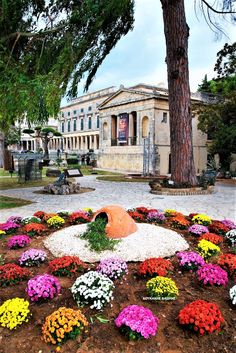 Corfu Island, Corfu Greece, Old Town, Mansions, House Styles, Garden, Palaces, Home Decor, Fotografia