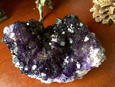 A personal favorite from my Etsy shop https://www.etsy.com/listing/273090170/delicious-fluorite-deep-dark-purple