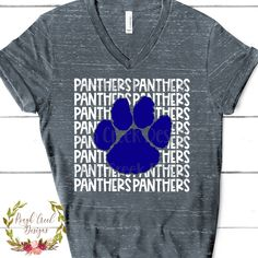 Excited to share this item from my shop: Panthers High School Mascot SVG School Spirit Wear, School Spirit Shirts, School Shirts, Teacher Shirts, Volleyball Shirts, Cheer Shirts, Team Shirts, Sports Shirts, High School Mascots