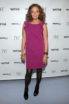 """Diane von Furstenberg Photo - DVF & Vanity Fair Preview BRANDAID Project's """"Mask & Mirrors"""""""