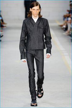 738b882cab5f Diesel Black Gold Revisits Workwear Uniform. Mens Fashion WeekDesigner ...