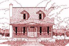 Exterior - Front Elevation Plan #79-212 - Houseplans.com