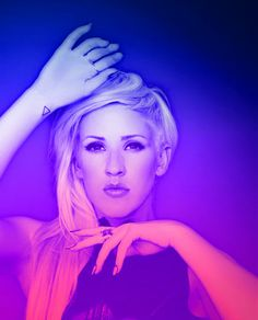 Ellie Goulding can i point out that she has the Bastille triangle on her wrist???!