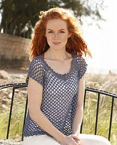 crochet pattern - florette tunic