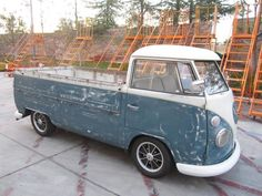 1966 VW Single Cab Transporter For Sale @ Oldbug.com
