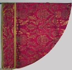 Silk Brocade Cope, Italy, 17th C., Augusta Auctions, April 17, 2013 - NYC, Lot 306