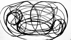 Inner Space - Kohle Zeichnungen / Variation 2. Markus Wintersberger koop Andrea Nagl 2011