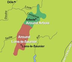 East of Burgundy, west of Switzerland, the Jura vineyards are on the foothills of the Jura mountains, running from just north of Arbois to just south of Lons-le-Saunier. Organic Wine, Wine News, Jura, Alps, Travel Guides, March 2013, Wines, Vineyard, Switzerland