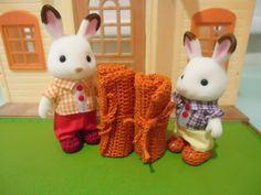 Sylvanian Families Sleeping Bag (Free Crochet Pattern)