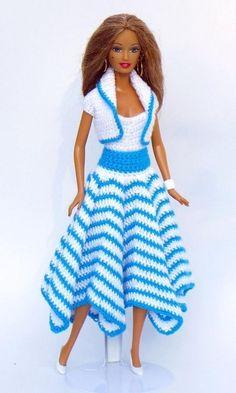 Mini-vestidos em crochê - enviamos os gráficos