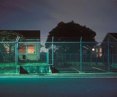 Greg Girard Negishi Housing Area (US Navy) Yokohama, Japan 2009 Courtesy of Clark & Faria Toronto Nocturne, 4 Wallpaper, Southern Gothic, Imagines, Tumblr, Vaporwave, Small Towns, Night Time, The Neighbourhood