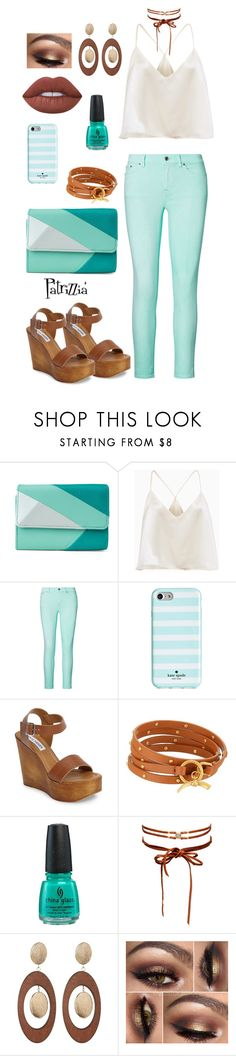 Patrizzia02.07.2017a by patrizzia on Polyvore featuring moda, Ralph Lauren, Steve Madden, Mundi, Tory Burch, Chan Luu, Spring Street, Kate Spade, China Glaze and patrizziapolyvore