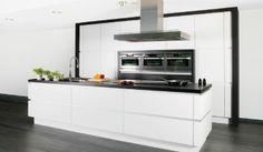 Keukens Dovy - basismodel keuken DESIGN White (TZR03) (modern) - keukens om in te leven!