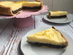 Citromkrémes mákos pite - Diétabarát recept | Recept Guru Cake Cookies, Cheesecake, Paleo, Stevia, Poppy, Desserts, Food, Fitness, Tailgate Desserts