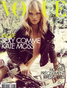 Kate Moss for Vogue Paris April 2008
