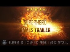 Free Superhero Games Trailer   After Effects Template  
