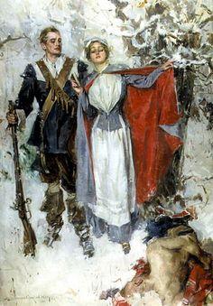 "Howard Chandler Christy - ""The Puritan Girl"" (1911)"