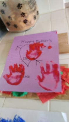 Mother day craft project