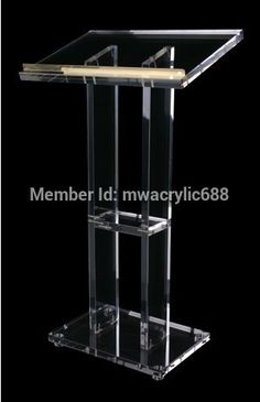 550.00$  Watch here - http://alimi3.worldwells.pw/go.php?t=1901567410 - Free Shipping Popularity  Beautiful Firm Modern Design Cheap Clear Acrylic Lectern 550.00$