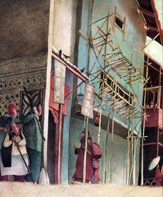 Rebecca Dautremer - Illustration - Cyrano