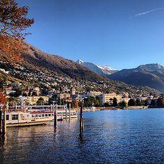 #LagoMaggiore #Locarno #Ticino oggi/today/heute/aujourd'hui #autumn...