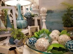 Olathe Home Décor provides Mirrors, Home Decor & Gifts in Olathe, Kansas Spring Home Decor, Cottages, Showroom, Yards, Kansas, Mirrors, Houses, Vase, Table Decorations
