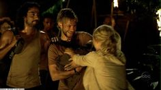 Sayid, Charlie, Aaron and Claire.