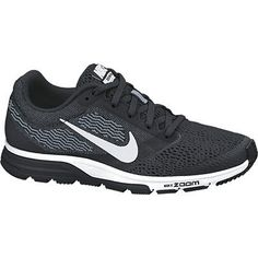 NIKE men's AIR ZOOM FLY 2 SHOES Running Training # 707606-001 BLACK/WHITE size 9