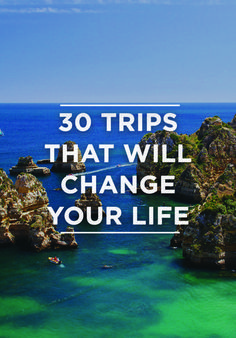 It's time to put in those vacation day requests. From urban hiking in South America to bar hopping in Europe, Smarter Travel has 30 destinations that will change your life. Solo Travel, Travel Usa, Travel Europe, Travel Tourism, European Travel, Time Travel, Bermuda Travel, Travel Plane, Cruise Europe