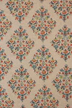 Lacefield Cut Yardage Textiles Flax 81% Cotton 19% Rayon 55 Inches Wide Repeat H: 13.5 V: 12.625 Printed in the USA